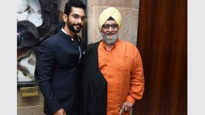 Angad Bedi's father says that he his proud of his movie choices!