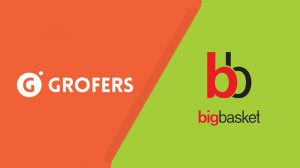 Grofers and BigBasket Logo