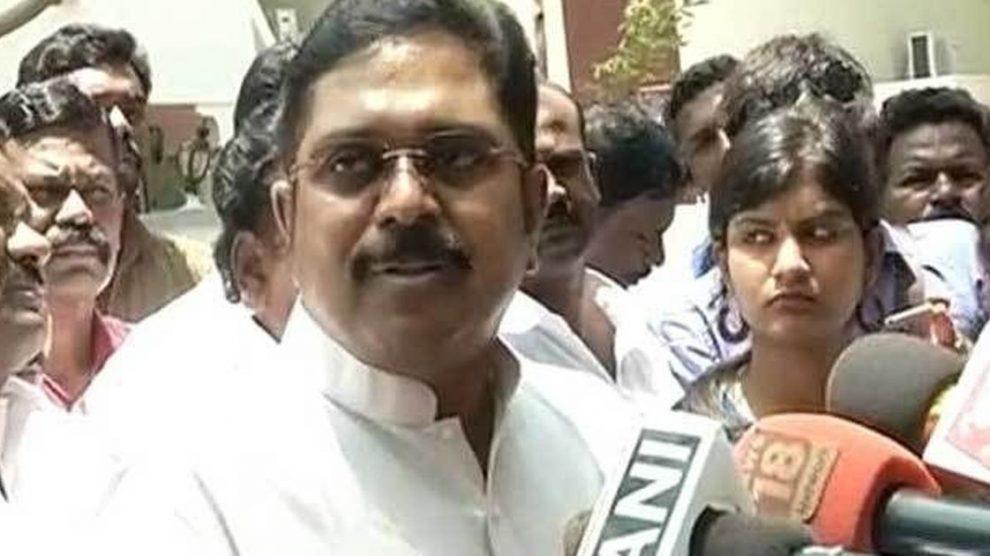TTV Dhinakaran Claims Jayalalithaa's RK Nagar Seat