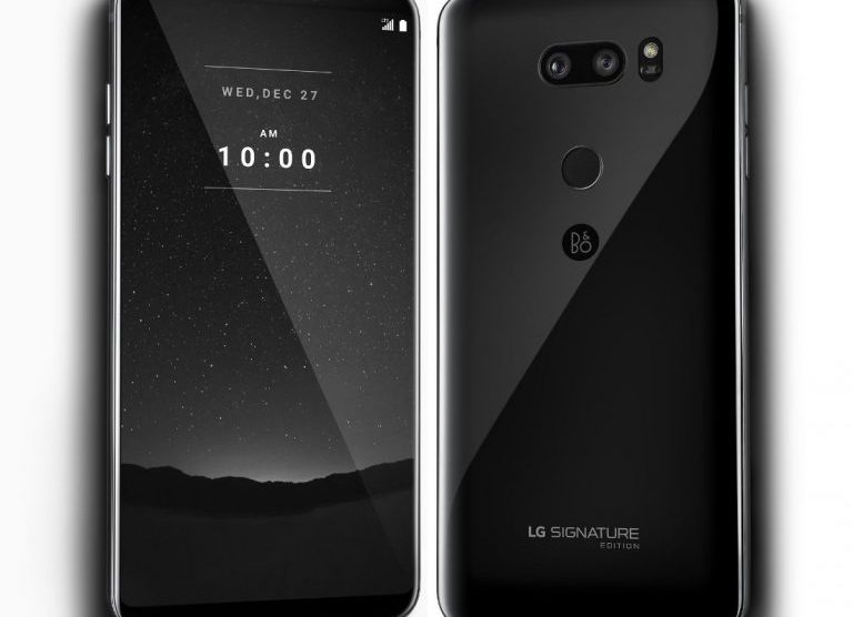 LG Signature Edition phone launches in South Korea with zirconium ceramic back
