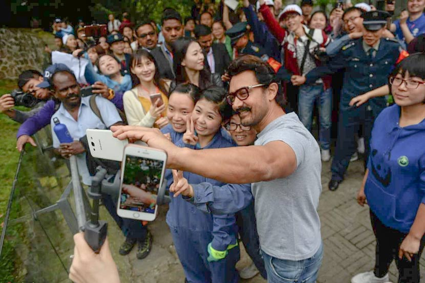 Aamir Khan China