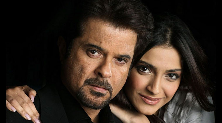 sonam kapoor and anil kapoor onscreen