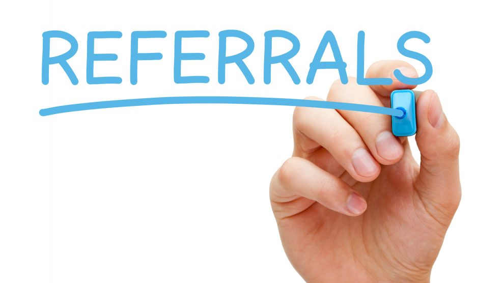referral form