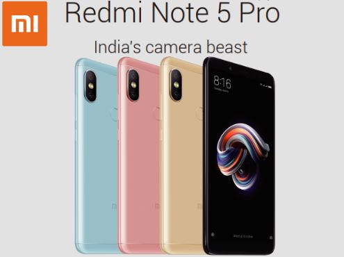 Xiaomi launches Redmi Note 5, Redmi Note 5 Pro and Mi TV 4 in India