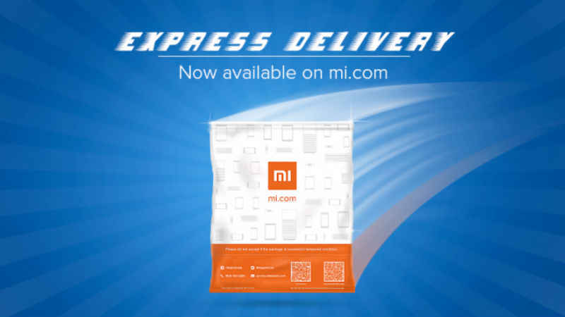 Bangaloreans can now opt for Express Delivery service from Xiaomi's online store