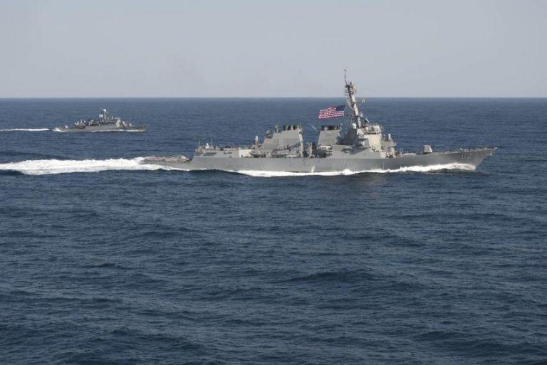 South China Sea : US warship transits through strategic waterway amidst trade war