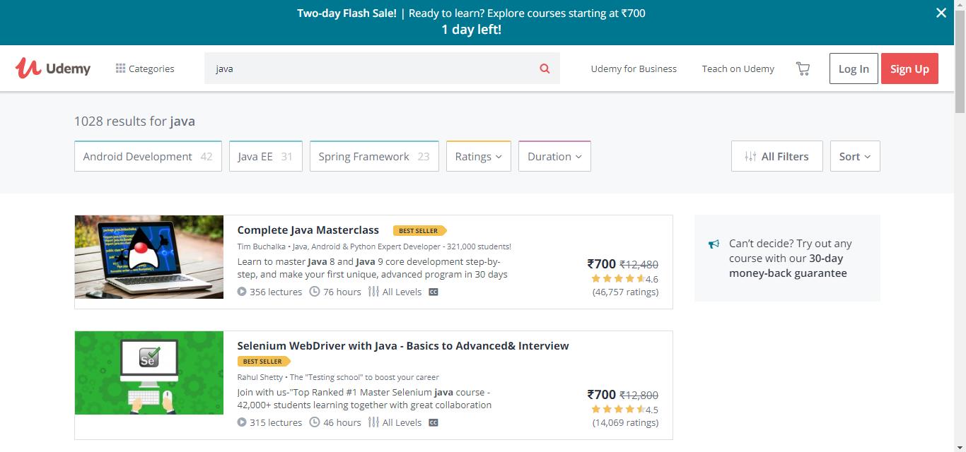 List of Top 10 best websites to learn Java programming