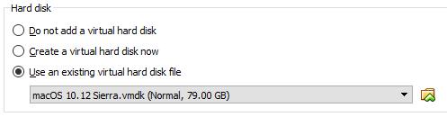 Select Hard Disk