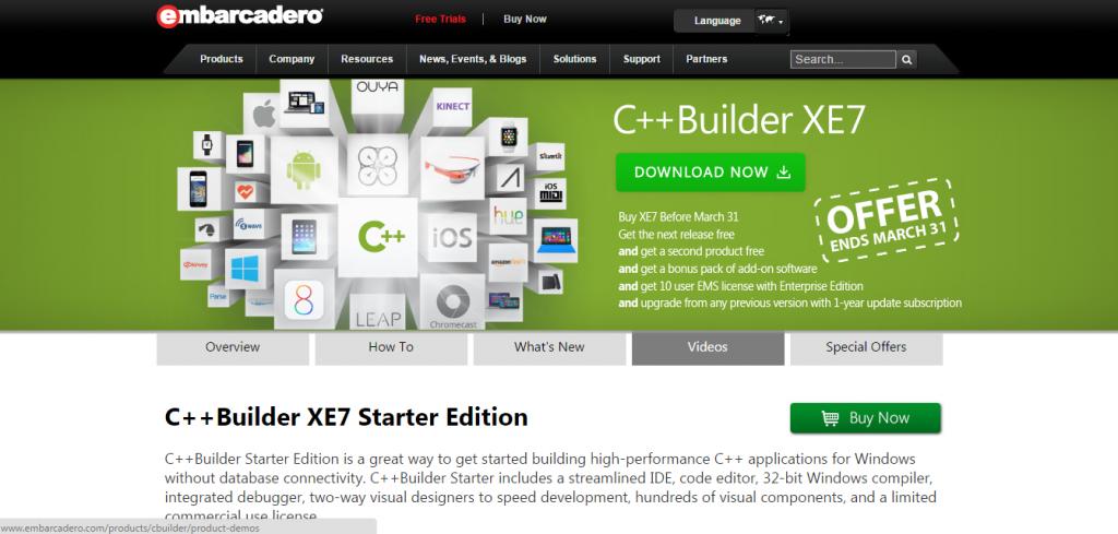 C++Builder IDE