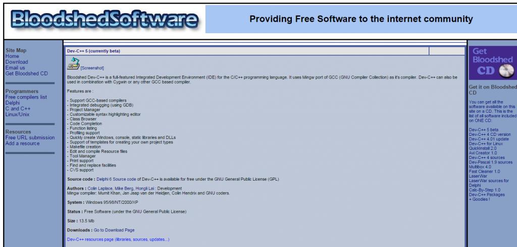 Dev C++ IDE