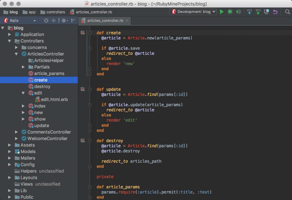 RubyMine IDE