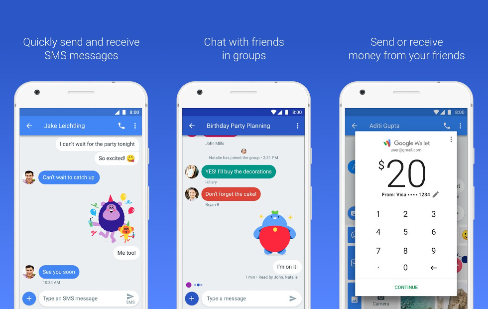 How to use Android Messages to send texts from web browsers