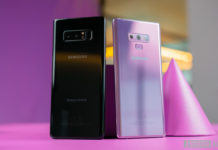 Galaxy Note 8 vs Note 9