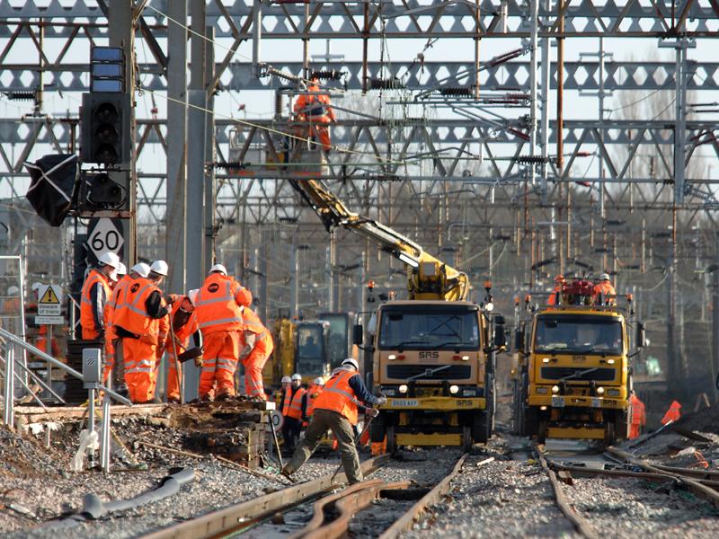 Railway-track-electrification
