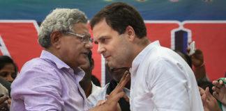 Sitaram Yechury Rahul Gandhi