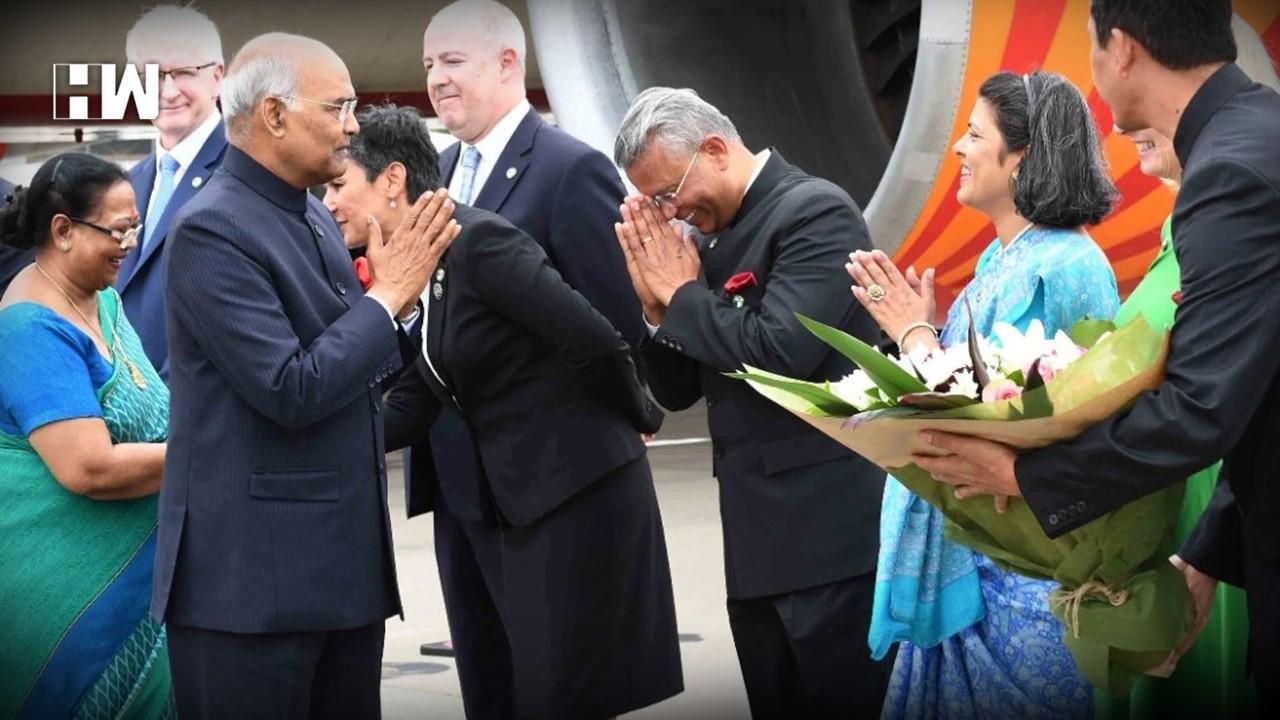 President Ram Nath Kovind meets Australian PM Scott ...