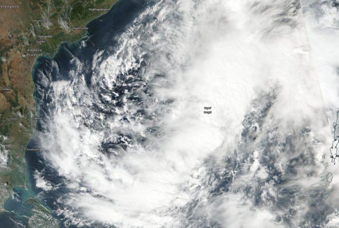 Cyclone gaja, Tamil Nadu