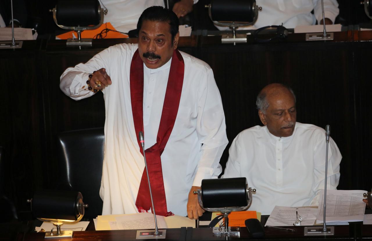 sri lanka- rajapaksa
