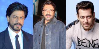 Shah Rukh Khan-Sanjay Leela Bhansali-Salman Khan