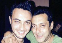 aayush sharma and salman khan