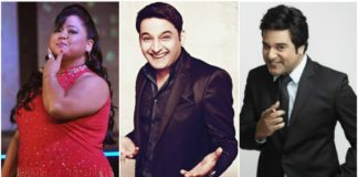 kapil, krushna and bharti