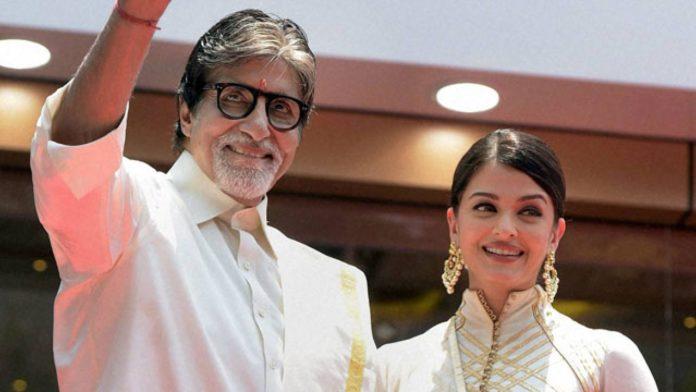 Aishwarya Rai and Amitabh Bachchan