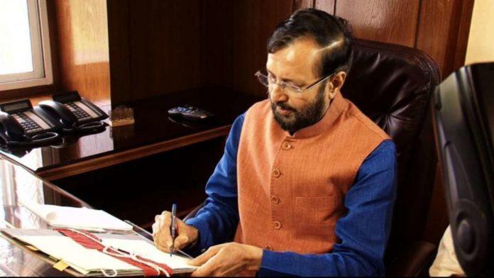 HRD Minister Prakash Javadekar