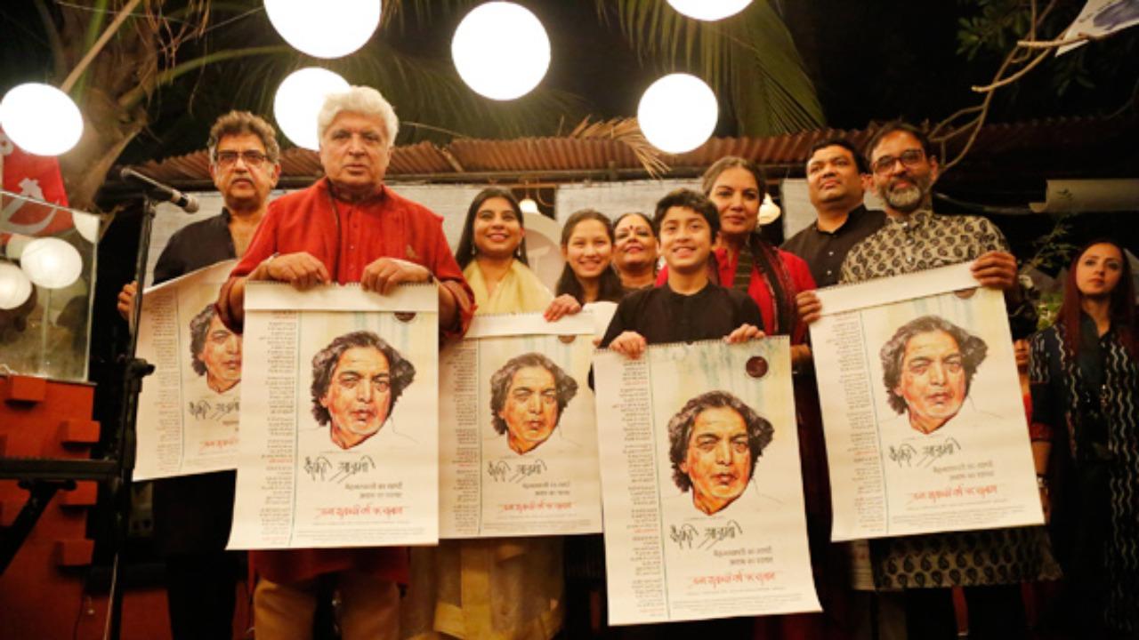 Kaifi Azmi's 100th birth anniversary