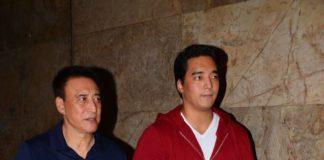 Danny Denzongpa with son Rinzing