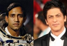 Shah Rukh Khan and Rakesh Sharma