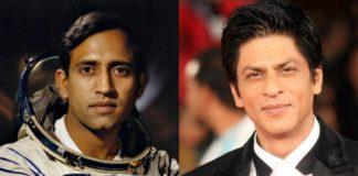 Shah Rukh Khan and Rakesh Sharma