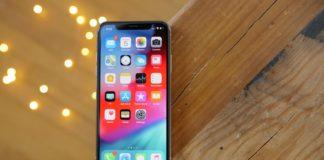 iOS 12 Homescreen