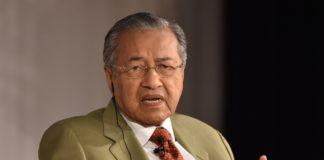 Malaysian PM Mahathir Mohamad