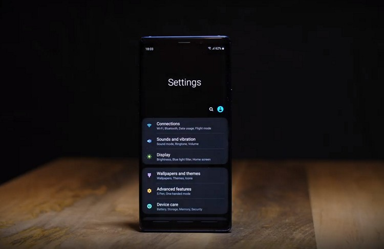 samsung starts rolling out one ui based on android 9 pie. Black Bedroom Furniture Sets. Home Design Ideas