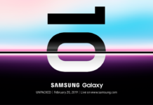 Samsung UNPACKED invite