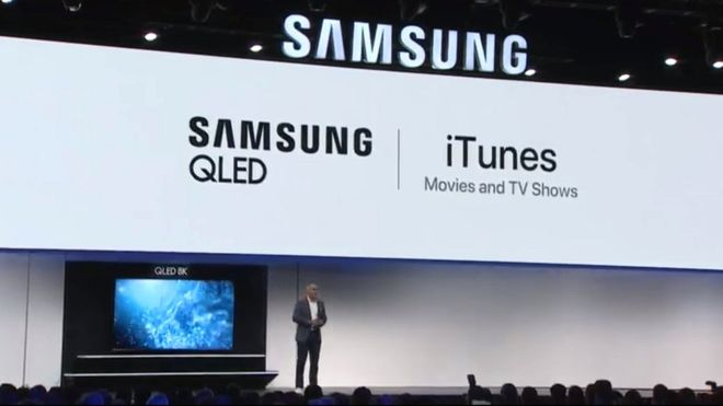 Samsung presentation at CES 2019