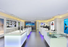 Samsung exclusive store