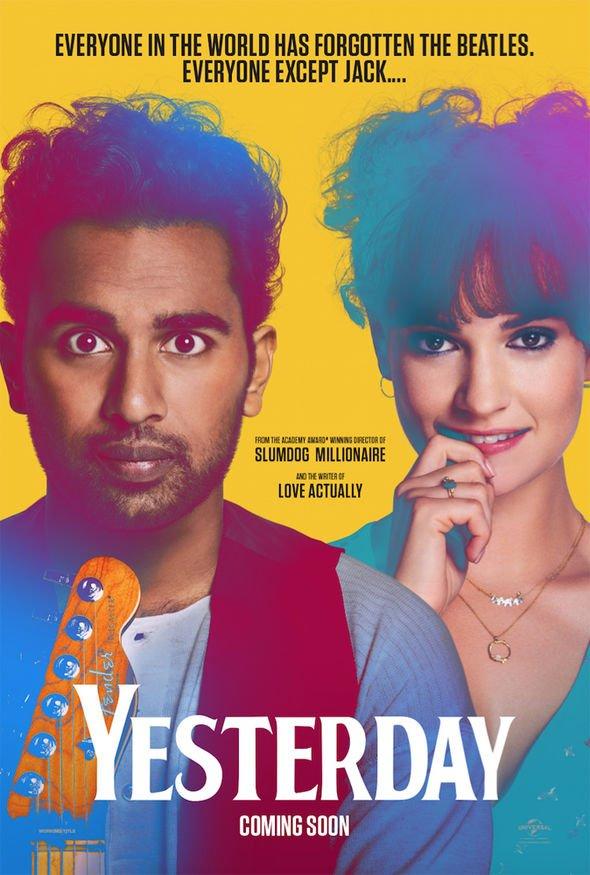 'Yesterday' Film Poster