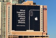 iPhone privacy advertisement