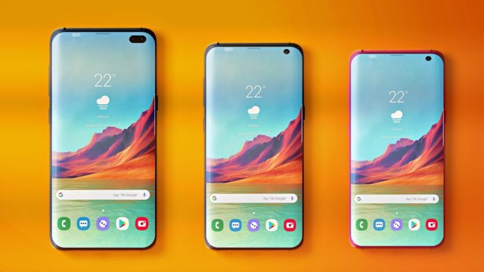 Samsung Galaxy S10 line-up concept