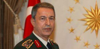 Turkey FM Hulusi Akar; Syria Safe Zone