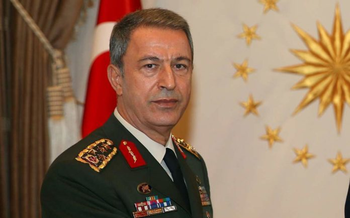 Turkey FM Hulusi Akar; Syria Safe Zone