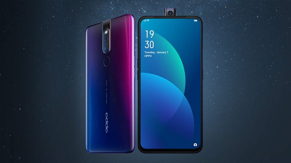 Oppo's F11 Pro packs a 6.5in screen with pop-up selfie cam