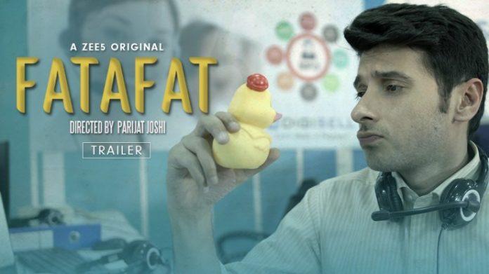 Divyendu Sharma in 'Fatafat'
