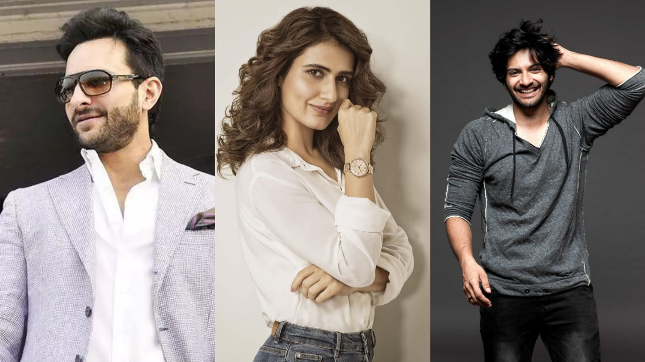 Fatima Sana Shaikh, Saif Ali Khan and Ali Fazal team up for horror-comedy 'Bhoot Police'