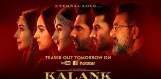 Kalank- poster
