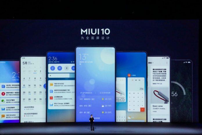 MIUI 10 Announcement
