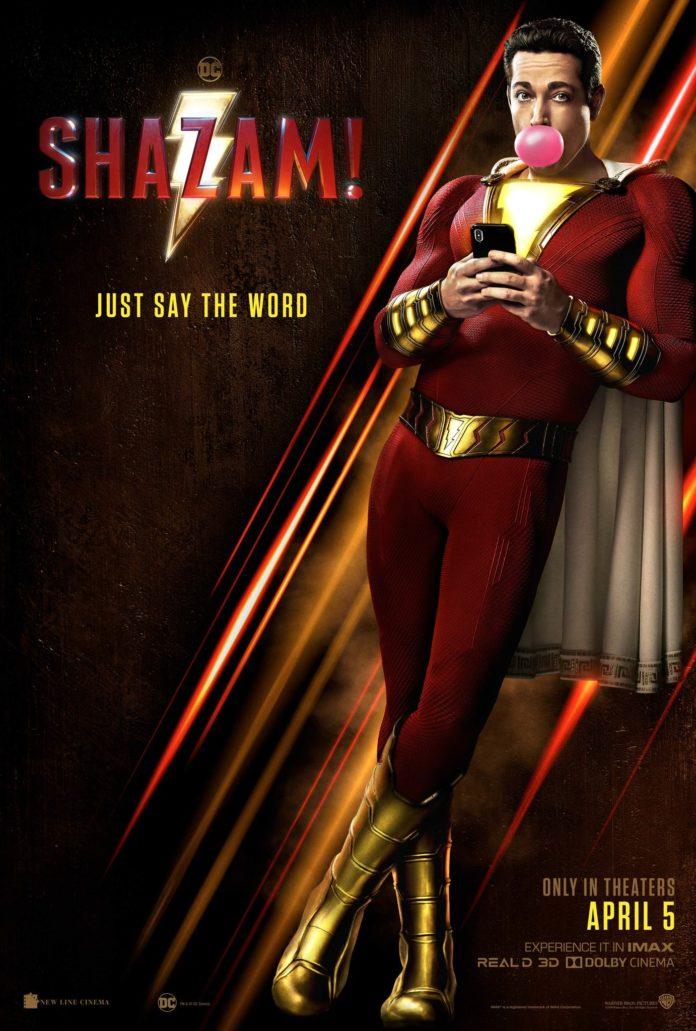 Shazam- movie poster