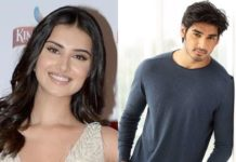 Tara Sutaria and Ahan Shetty