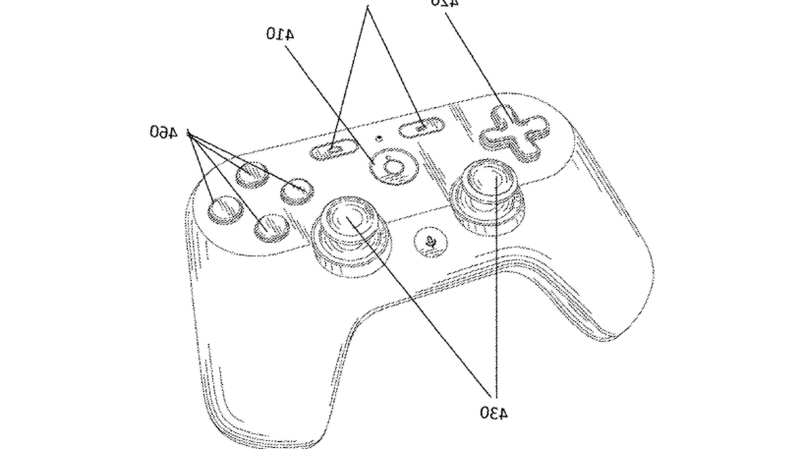 Google Controller Patent